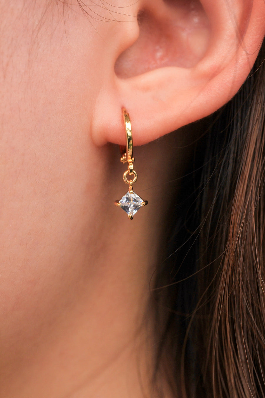 Personalised Earrings - Diamond