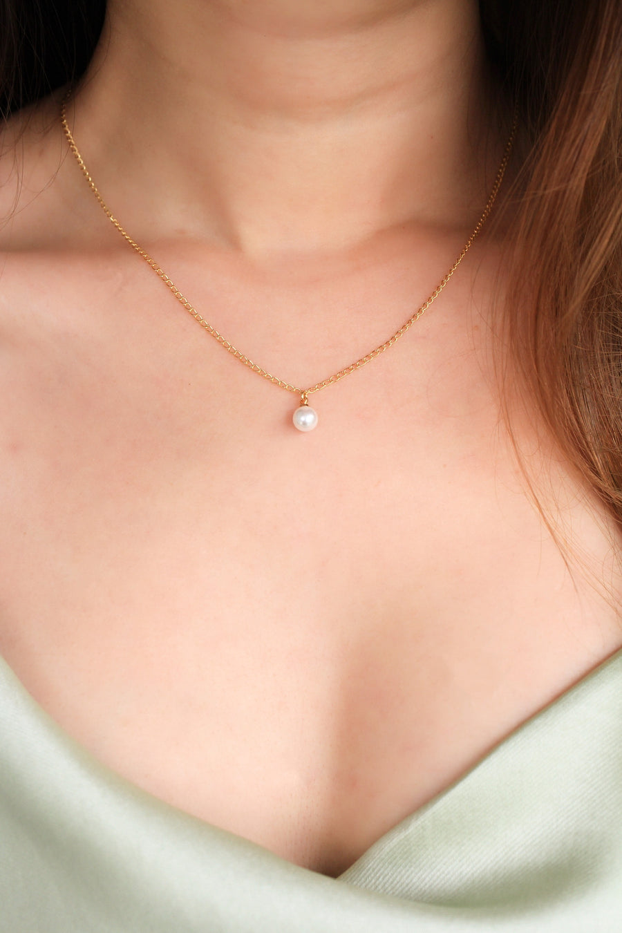 Eleanor Pearl Necklace