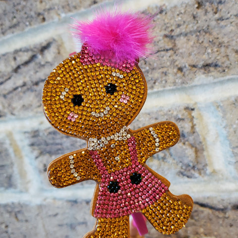 Gingerbread Girl Rhinestone Headband