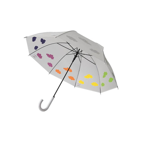 Color Changing White Clouds Umbrella