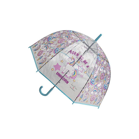 Heart Me Accessories Blue Unicorn Umbrella