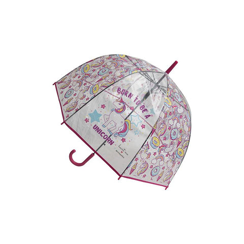 Heart Me Accessories Pink Unicorn Umbrella