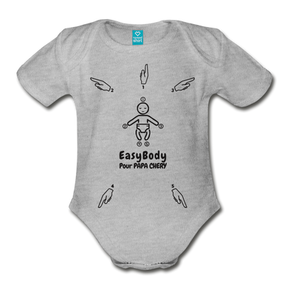 Body pour Bébé_Easybody - heather gray
