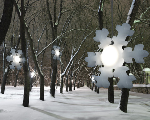 Outdoor Christmas LED light Snowflake - 30''