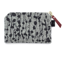 Load image into Gallery viewer, Silkscreen Printed Harris Tweed Pouch - Small