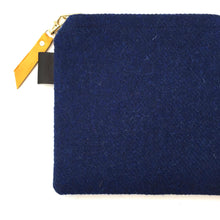 Load image into Gallery viewer, Silkscreen printed Harris Tweed Pouch