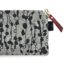 Load image into Gallery viewer, Lella Silkscreen Printed Harris Tweed Pouch