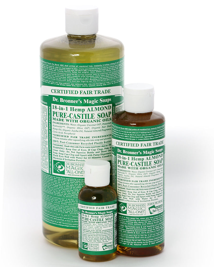 Dr. Bronner's Magic Liquid Soap Almond
