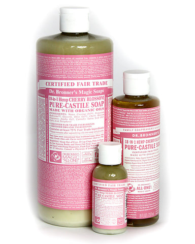 Dr. Bronner's Magic Liquid Soap Cherry Blossom
