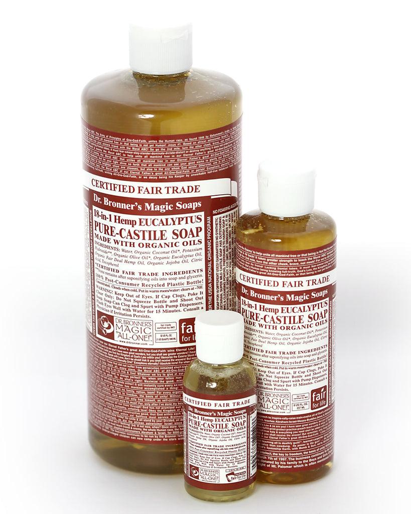 Dr. Bronner's Magic Liquid Soap Eucalyptus