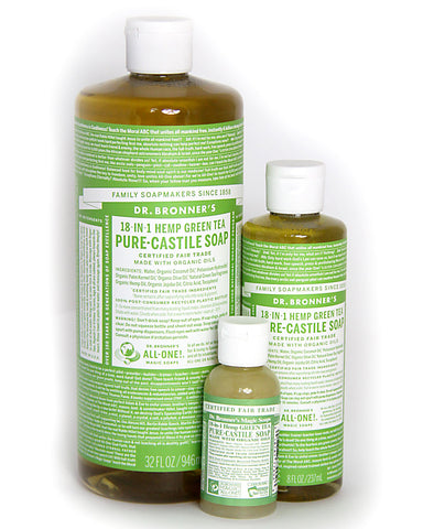 Dr. Bronner's Magic Liquid Soap Green Tea