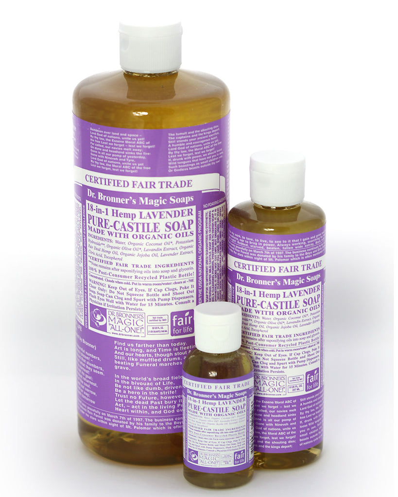 Dr. Bronner's Magic Liquid Soap Lavender