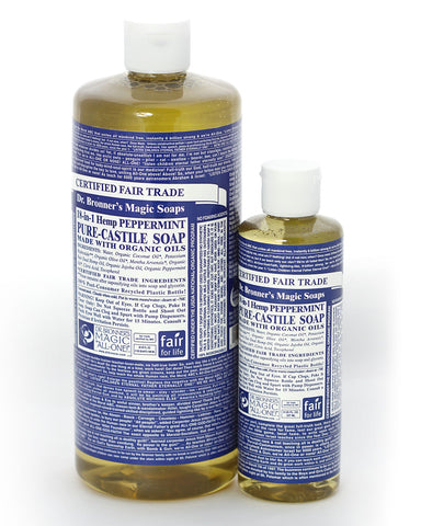 Dr. Bronner's Magic Liquid Soap Peppermint