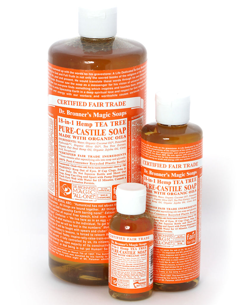 Dr. Bronner's Magic Liquid Soap Tea Tree