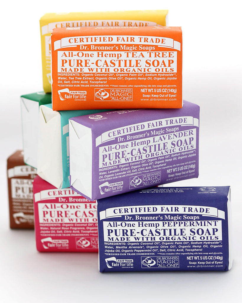 Dr. Bronner's Magic Soap Bars
