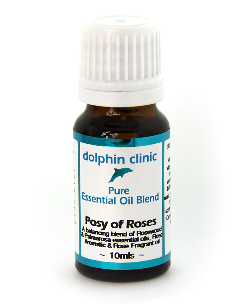 Dolphin Clinic Essential Oil Blend- Posy of Roses