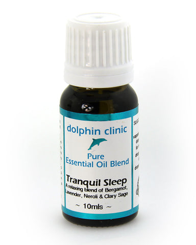 Dolphin Clinic Essential Oil Blend- Tranquil Sleep