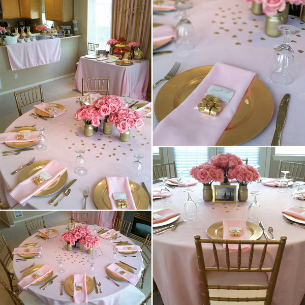 Pink Amp Gold Bridal Shower Shop Party Boutique