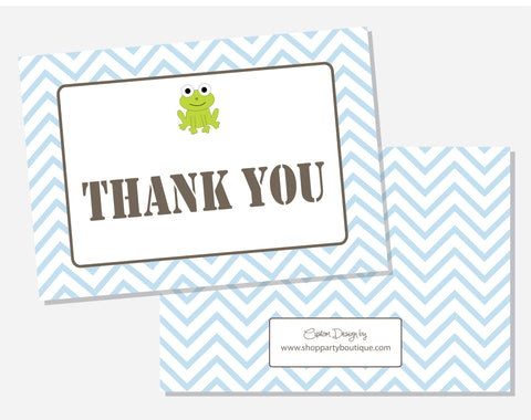 Frogs & Snails Thank You Cards