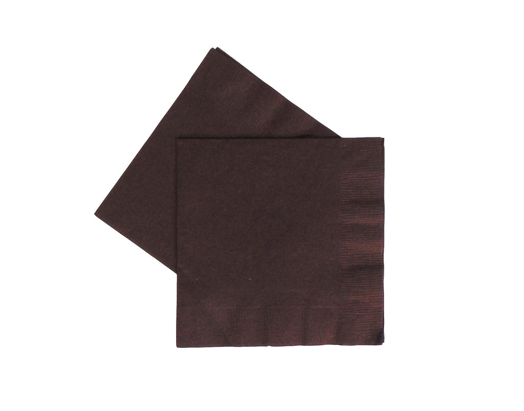Beverage Napkins - Brown