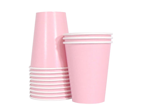 Paper Cups - Pink