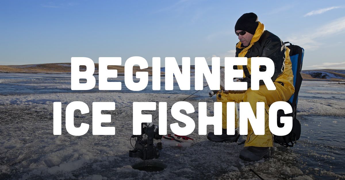 beginner ice fishing