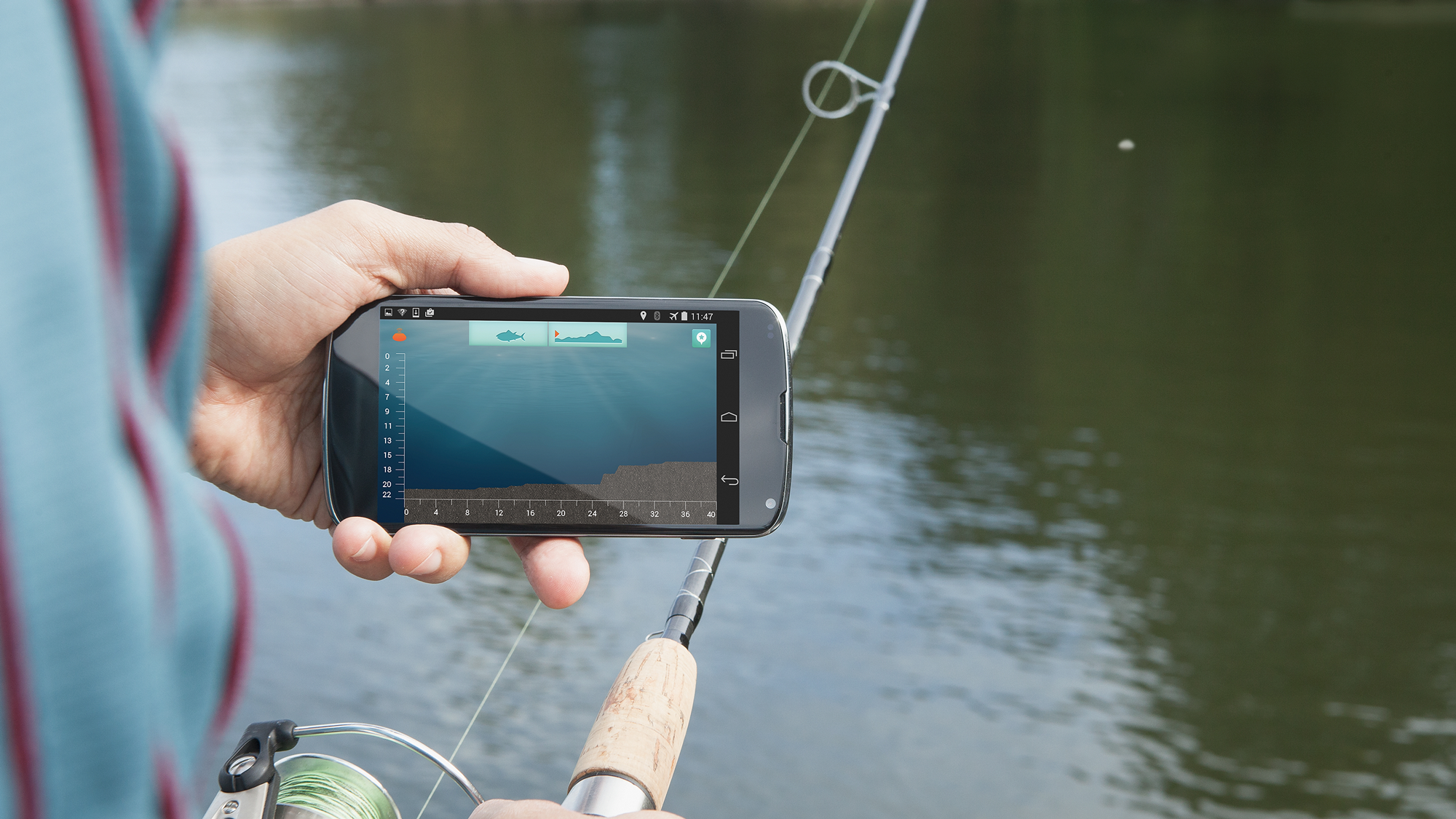 iBobber Pulse Bluetooth Smart® Castable Fish Finder with FishSiren™