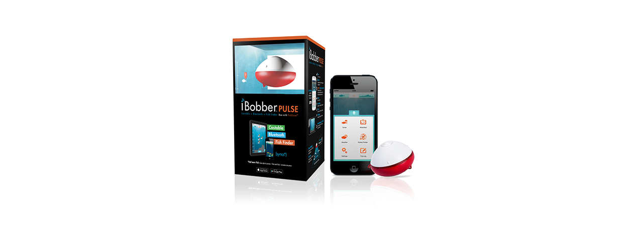 iBobber Pulse with Fish Attractor Wireless Bluetooth Smart Fish Finder for iOS and Android Devices