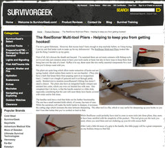 Survivorgeek Multi-tool Pliers review
