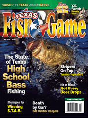 Texas Fish & Game - May 2016