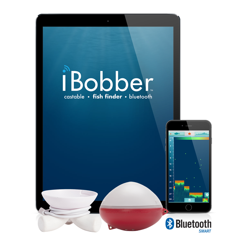 ibobber bluetooth smart® castable fish finder – reelsonar, Fish Finder