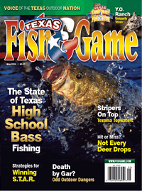 Texas Fish & Game May 2016