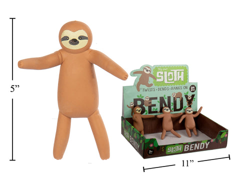 Bendy Sloth!  NEW