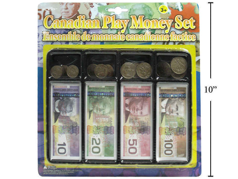 Canadian Play Money Set