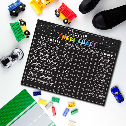 Reusable Chore Chart by Love Designs- New Price!