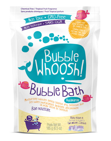 Bubble Whoosh Tropical Fruit  (Aquamarine )- Back in Stock!