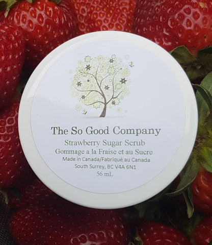 So Good Strawberry Sugar Scrub