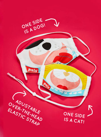 PALS Reversible Face Mask- Kids and Adults- Now in Stock!