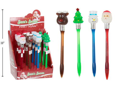 Light Up Christmas Pens