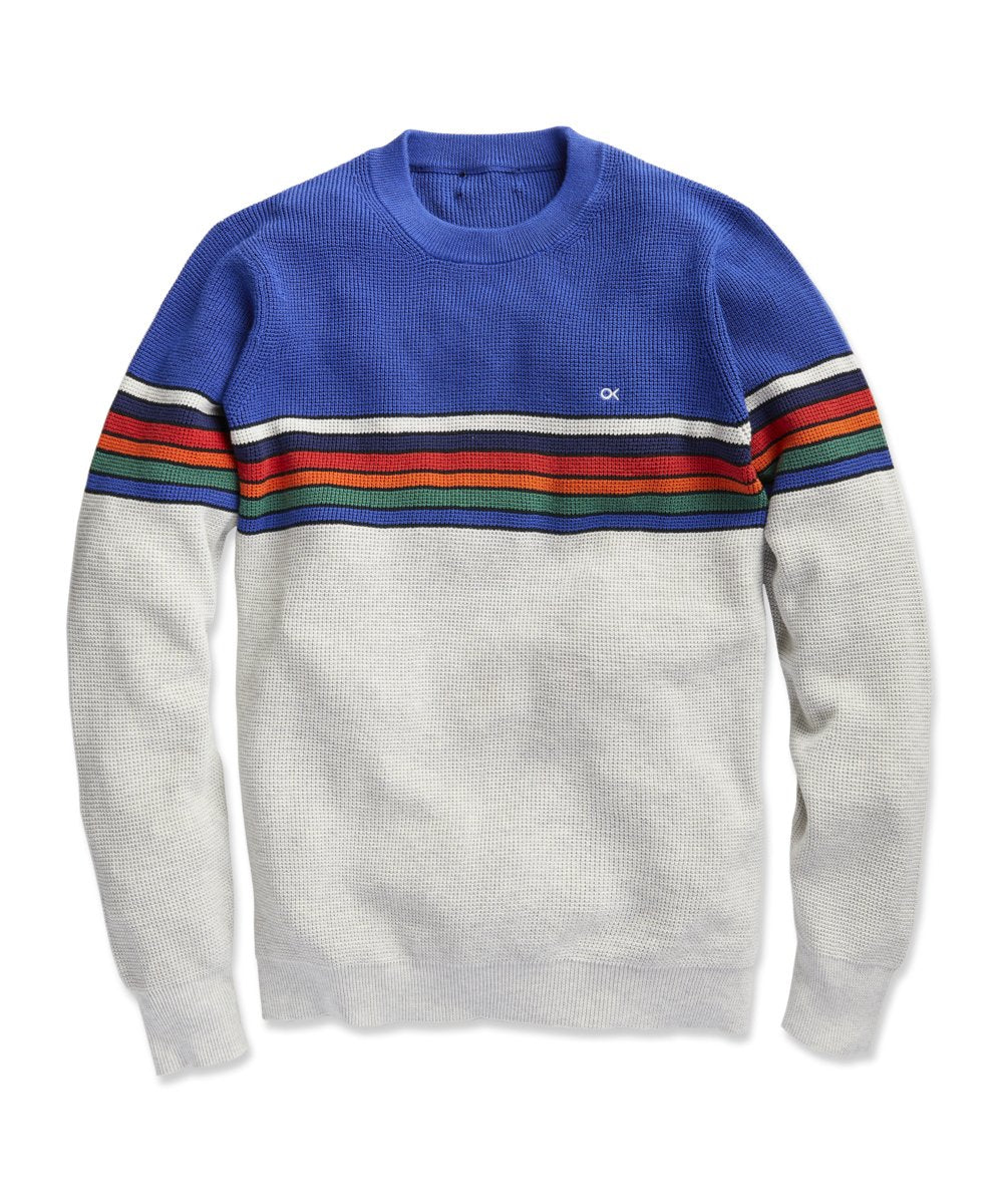 Nostalgic Sweater - Multi Color Stripe - OKR