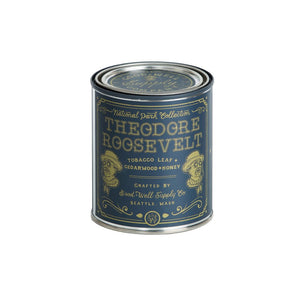 Theodore Roosevelt Candle - Tobacco, Cedar & Honey