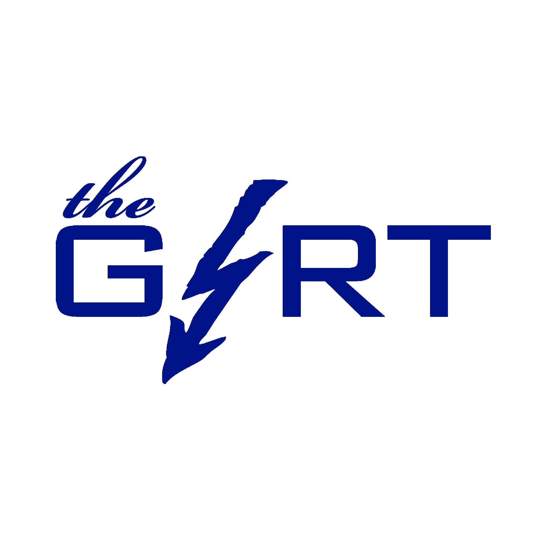 The Girt Script Vinyl Sticker