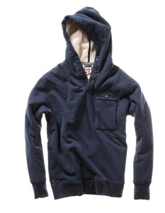 The Superfleece Hoodie - Navy