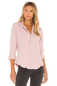 Frank and Eileen - Barry Woven Button Up - Indigo Blush