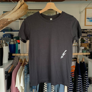 Youth Big Wave Tee - Dark Grey