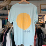Sun Unisex Tee - Heather Ice Blue