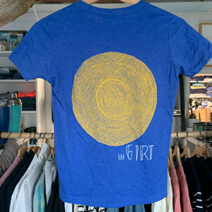 Youth Sun Tee - Heather Tru Royal