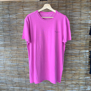 Wavy Short Sleeve Tee - Round 2 Charity Pink
