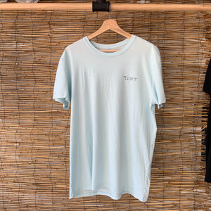 Wavy Short Sleeve Tee - Round 2 Chambray
