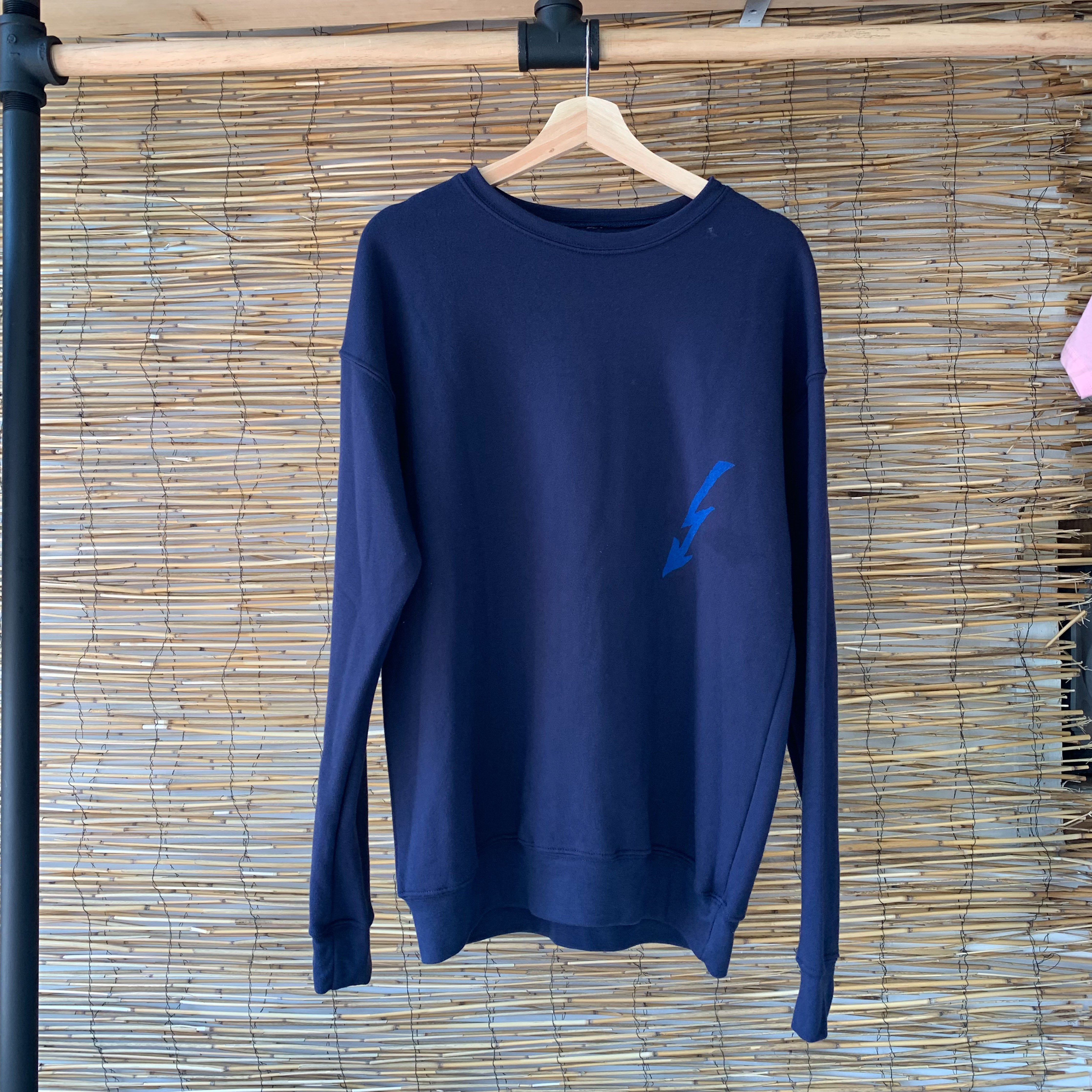 Coastal Towns Crewneck - Navy